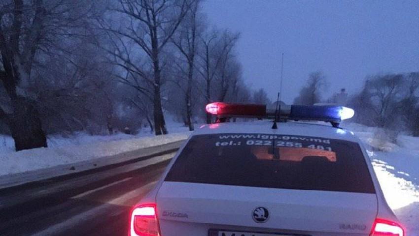 Foto: Un șofer în stare de ebrietate narcotică a rămas fără permis de conducere