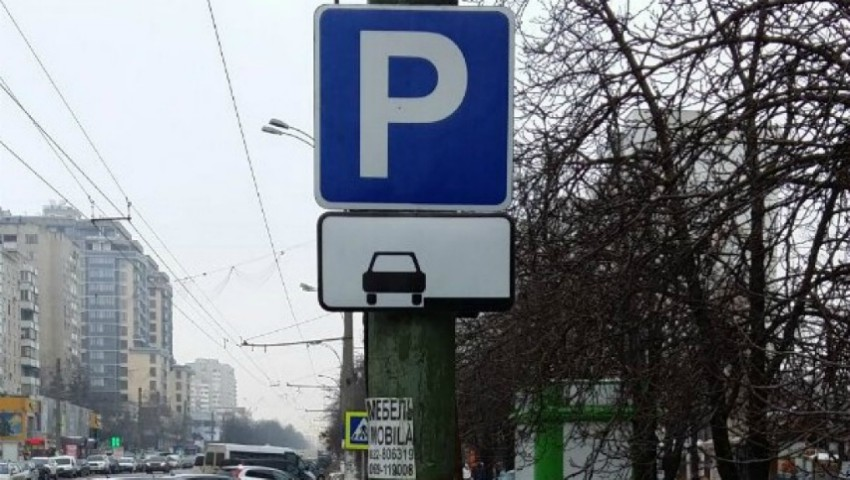 Foto: Atenție, șoferi! Pe bulevardul Moscovei au fost montate indicatoare rutiere noi