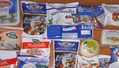Experții în alertă! Mai multe tipuri de mozzarella din comerț, falsificate cu soluție de dezghețare a drumurilor