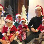 """Foto: Cea mai surprinzătoare poză de Revelion! ,,Echipa"""" lui Ronaldo, în costume de crăciunei"""