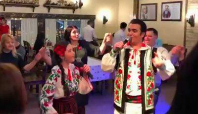 Duet de familie! Igor Cuciuc cântă împreună cu fiica sa. Video