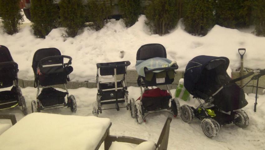 Foto: În Suedia, bebelușii sunt scoși afară să doarmă în frig, chiar și la -20 de grade