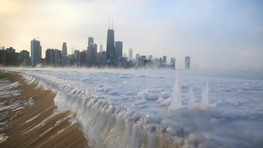 Foto: E prăpăd în SUA! Sunt anunțate temperaturi de -54°C și viscol