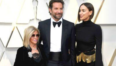 Irina Shayk, alături de soț și soacră la Gala Premiilor Oscar. Cele mai spectaculoase cupluri pe covorul roșu