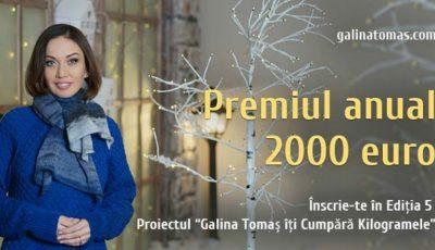 """Începe o nouă ediție """"Galina Tomaș îți cumpără kg""""!  Stai cu ochii pe noi pentru a afla ce presupune competiția"""