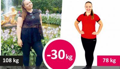După ce a slăbit 30 de kg și-a schimbat viața radical
