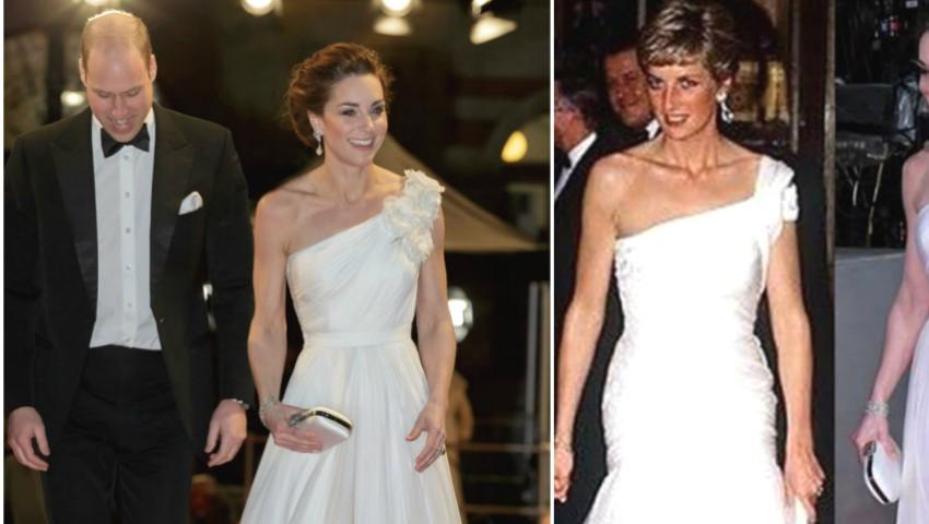 Foto: Kate Middleton a strălucit la premiile BAFTA 2019! Iată ce ținută a purtat