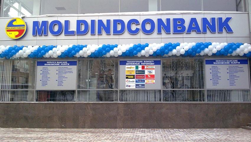 Moldindconbank, una dintre cele mai mare bănci din țară a fost vândută