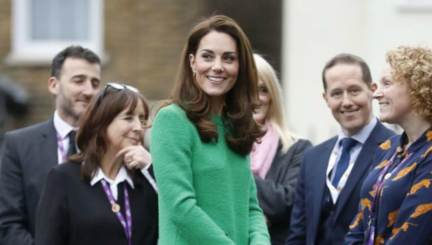 Foto: Kate Middleton, superbă într-o rochie verde. Una din culorile ei preferate