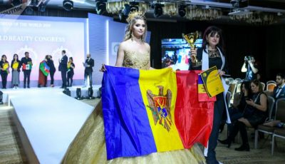 Video! O moldoveancă a fost desemnată cel mai bun make-up artist din lume