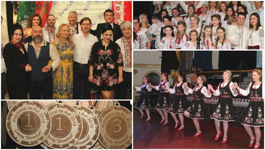 Foto: Moldovenii din Canada au organizat cea de-a 13-a ediție a Festivalului Vinului de Casă, Polobocul de Aur