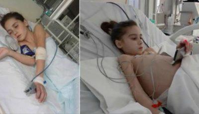 Detalii noi despre starea de sănătate a fetiței care a suportat un transplant de ficat