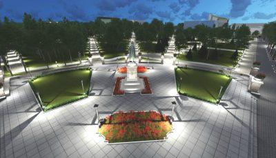 Grădina Publică Ştefan cel Mare din Chişinău ar putea arăta așa! Un nou proiect propus spre consultare publică
