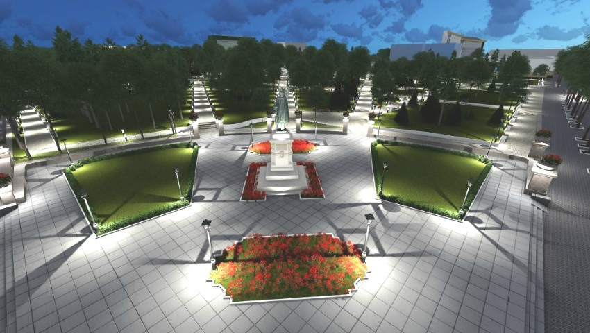 Foto: Grădina Publică Ştefan cel Mare din Chişinău ar putea arăta așa! Un nou proiect propus spre consultare publică
