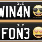 Foto: În Australia, au fost lansate primele numere de înmatriculare cu emoticonuri