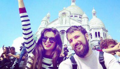 Petru Scalețchi și-a cerut iubita în căsătorie, la Praga!