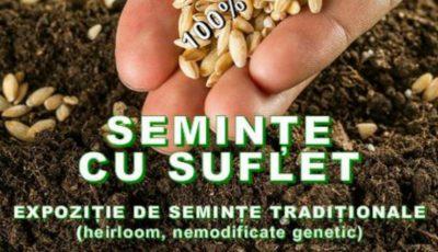 """,,Semințe cu suflet"""" – vino la eveniment și primește în dar soiuri sănătoase de semințe și plante pentru grădina ta"""