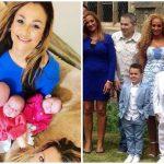 Foto: O femeie de 50 de ani, cu 8 nepoți, a născut cvadrupleți