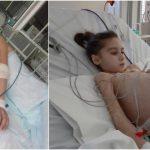 Foto: Un moldovean, tată a doi copii, s-a oferit voluntar să o salveze pe Sabrina. Mâine va fi efectuat transplantul de ficat!