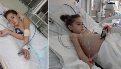 Un moldovean, tată a doi copii, s-a oferit voluntar să o salveze pe Sabrina. Mâine va fi efectuat transplantul de ficat!