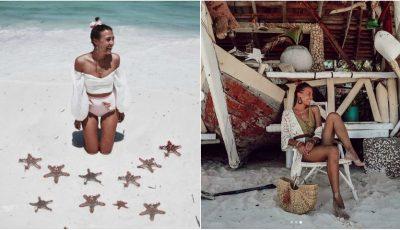 Bloggerița Cristina Surdu, vacanță de vis într-o destinație exotică! Iată ce cadou i-a făcut soțul