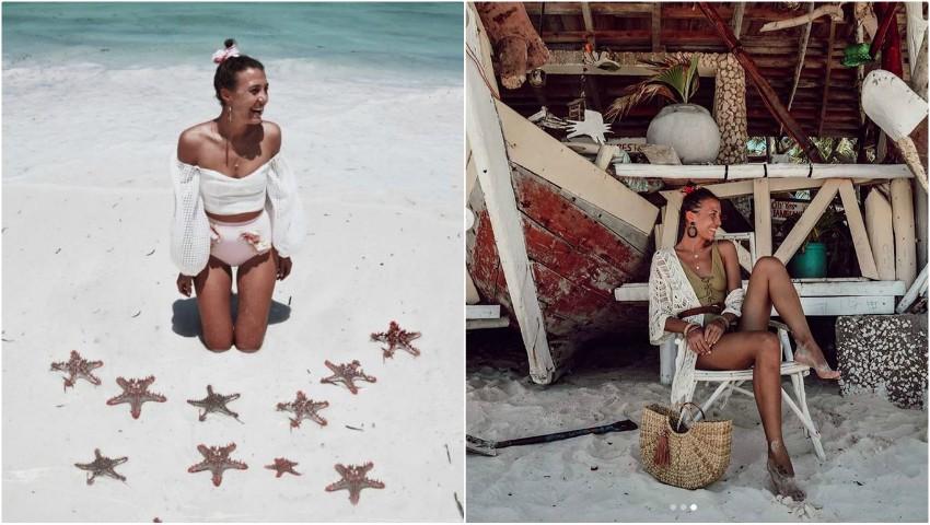 Foto: Bloggerița Cristina Surdu, vacanță de vis într-o destinație exotică! Iată ce cadou i-a făcut soțul