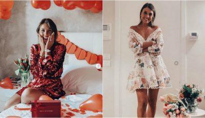 De Valentine's Day, fashion bloggerița Cristina Surdu i-a dedicat un mesaj emoționant soțului ei