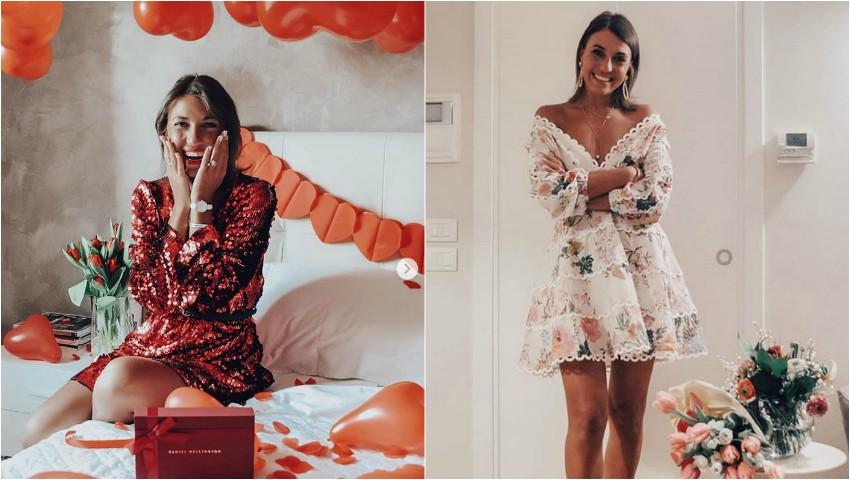 Foto: De Valentine's Day, fashion bloggerița Cristina Surdu i-a dedicat un mesaj emoționant soțului ei