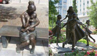 Cele mai emoționante sculpturi din lume dedicate mamelor!