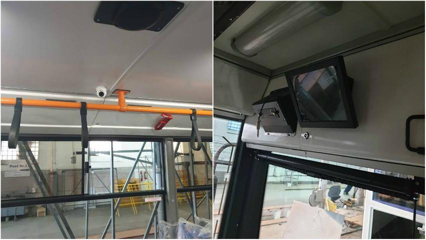 În câteva troleibuze din Capitală vor fi montate camere video şi prize USB