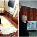 Foto: Face sfoara la 93 de ani. O bunicuță din Ucraina a intrat în Cartea Recordurilor!