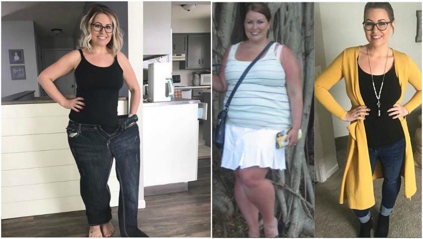 Foto: S-a transformat radical, după ce a slăbit 41 kg în 7 luni. Iată cum a reușit!