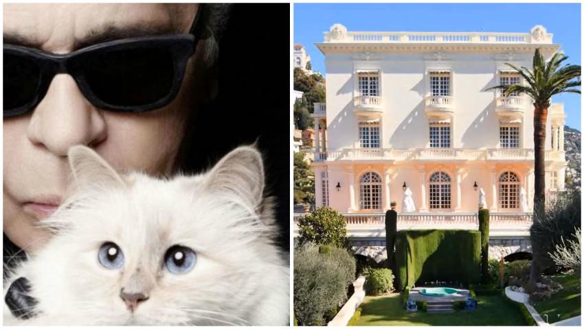 Foto: Cum arată casa în care a locuit Karl Lagerfeld! Locuința este spectaculoasă