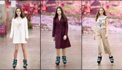 Defilare de modă pe role în Chișinău! 12 designeri autohtoni și-au prezentat tendințele pentru acest sezon