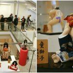 Foto: La Muzeul Național de Artă al Moldovei a fost inaugurată o expoziție unică de păpuși japoneze