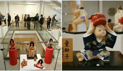 La Muzeul Național de Artă al Moldovei a fost inaugurată o expoziție unică de păpuși japoneze