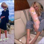Foto: Victoria Lopyreva a dezvăluit cum se menține slabă pe perioada sarcinii