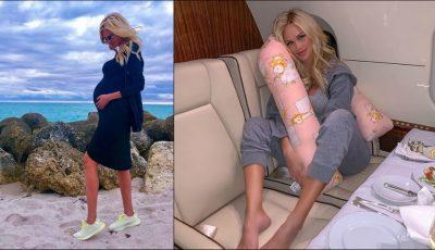 Victoria Lopyreva a dezvăluit cum se menține slabă pe perioada sarcinii