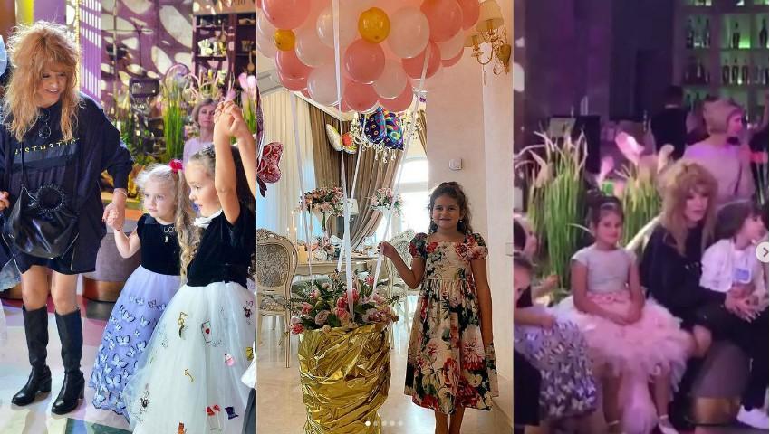 Foto: Petrecere de poveste pentru Margarita, fiica lui Jasmin și Ilan Șor, care a împlinit 7 anișori! Foto