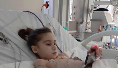 Sabrina Rău a fost operată. Cum se simte fetița în acest moment?