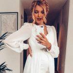 """Foto: Cristina Gheiceanu, despre surprizele din timpul sarcinii: ,,Mă obișnuisem cu ideea că un Făt Frumos crește în burtica mea"""""""