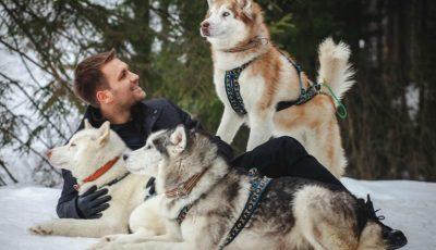 Ionel Istrati și-a făcut noi prieteni în vacanța la munte!