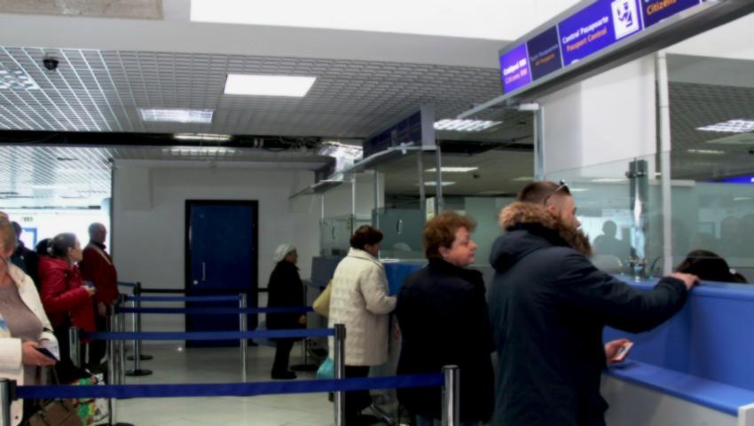 Foto: Traficul a revenit la normal pe Aeroportul Chișinău