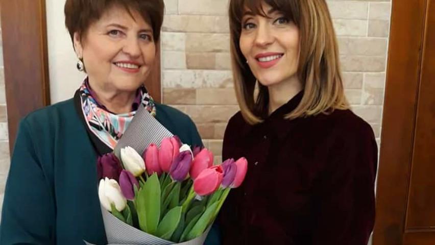 Foto: Aura i-a dedicat mamei sale un mesaj emoționant
