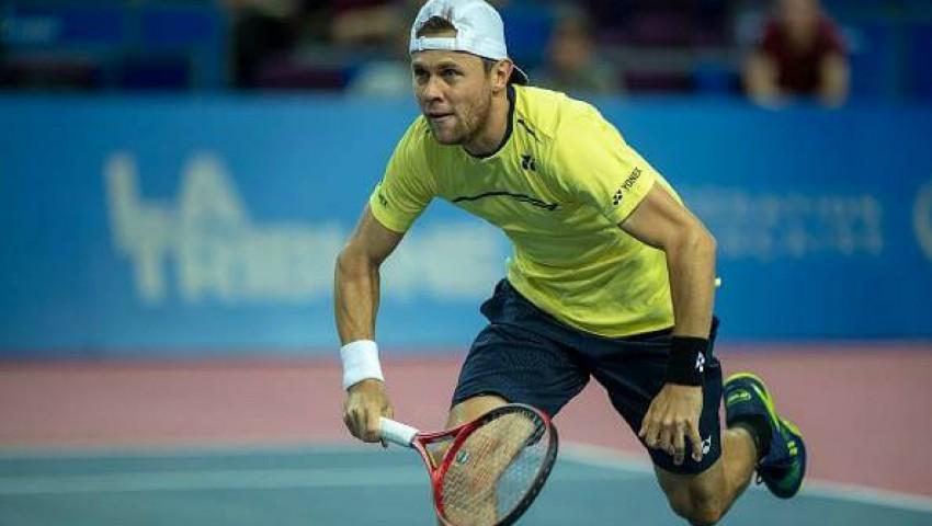 Foto: Radu Albot a devenit primul jucător de tenis moldovean care câștigă un titlu ATP!