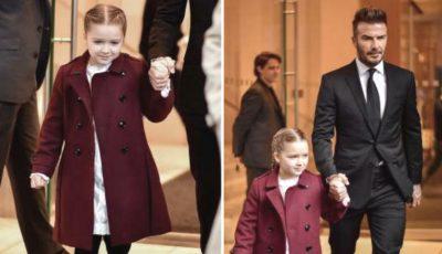 Fiica Victoriei Beckham nu mai arată așa. Harper are un nou look stilat!