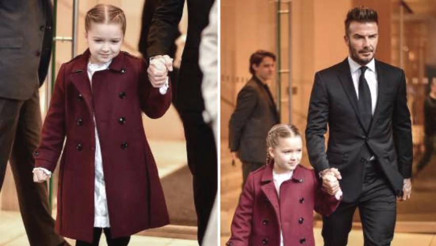 Foto: Fiica Victoriei Beckham nu mai arată așa. Harper are un nou look stilat!