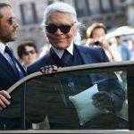 Foto: Motivul pentru care Karl Lagerfeld purta mereu ochelari de soare