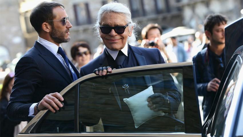 Motivul pentru care Karl Lagerfeld purta mereu ochelari de soare