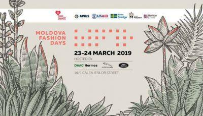 Cumpără bilete la Moldova Fashion Days SS '19 și află ce ți-au pregătit designerii autohtoni